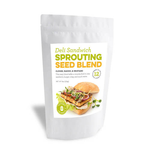 Deli Sandwich Sprouting Seed Blend