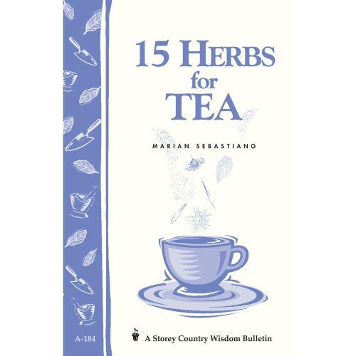 15 Herbs for Tea Book