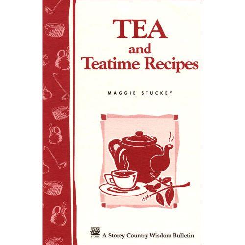 Tea and Teatime Recipes Book