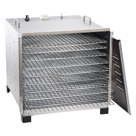 Big Bite® Stainless Steel Dehydrator with 12 Hour Timer
