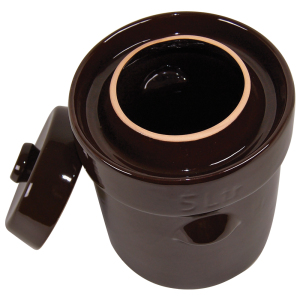 Water-Seal Crock Gutter and Lid