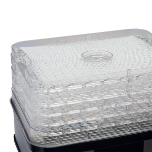 5 Tray Digital Dehydrator - Close up of Trays