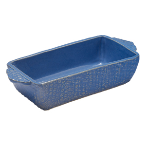 Blue Loaf Pan by Sienna Ceramics
