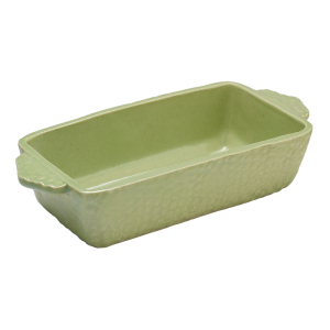 Jadeite Loaf Pan by Sienna Ceramics