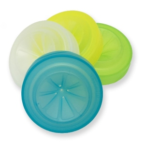 Trap Cap Fruit-Fly Catching Lids (4-Pack)