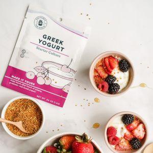 Greek Yogurt Culture In Use
