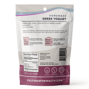 Greek Yogurt Starter Culture
