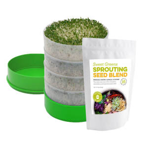 Deluxe Sprouter with Sweet Greens Seed Blend