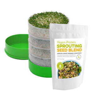 Deluxe Sprouter with Vegan Protein Seed Blend