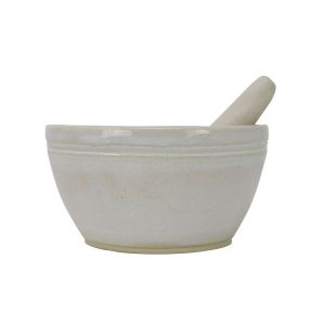 Stoneware Mortar & Pestle by Sienna Ceramics