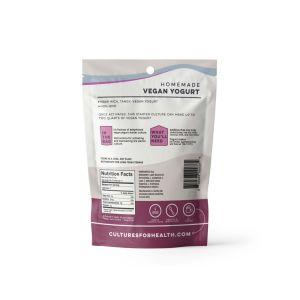 vegan yogurt back