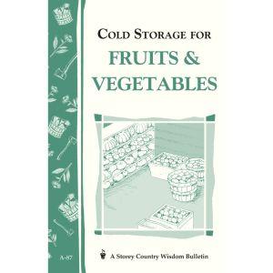 Cold Storage for Fruits & Vegetables Book