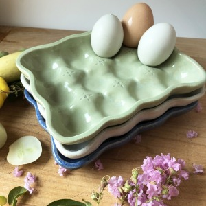 Egg Trays by Sienna Ceramics