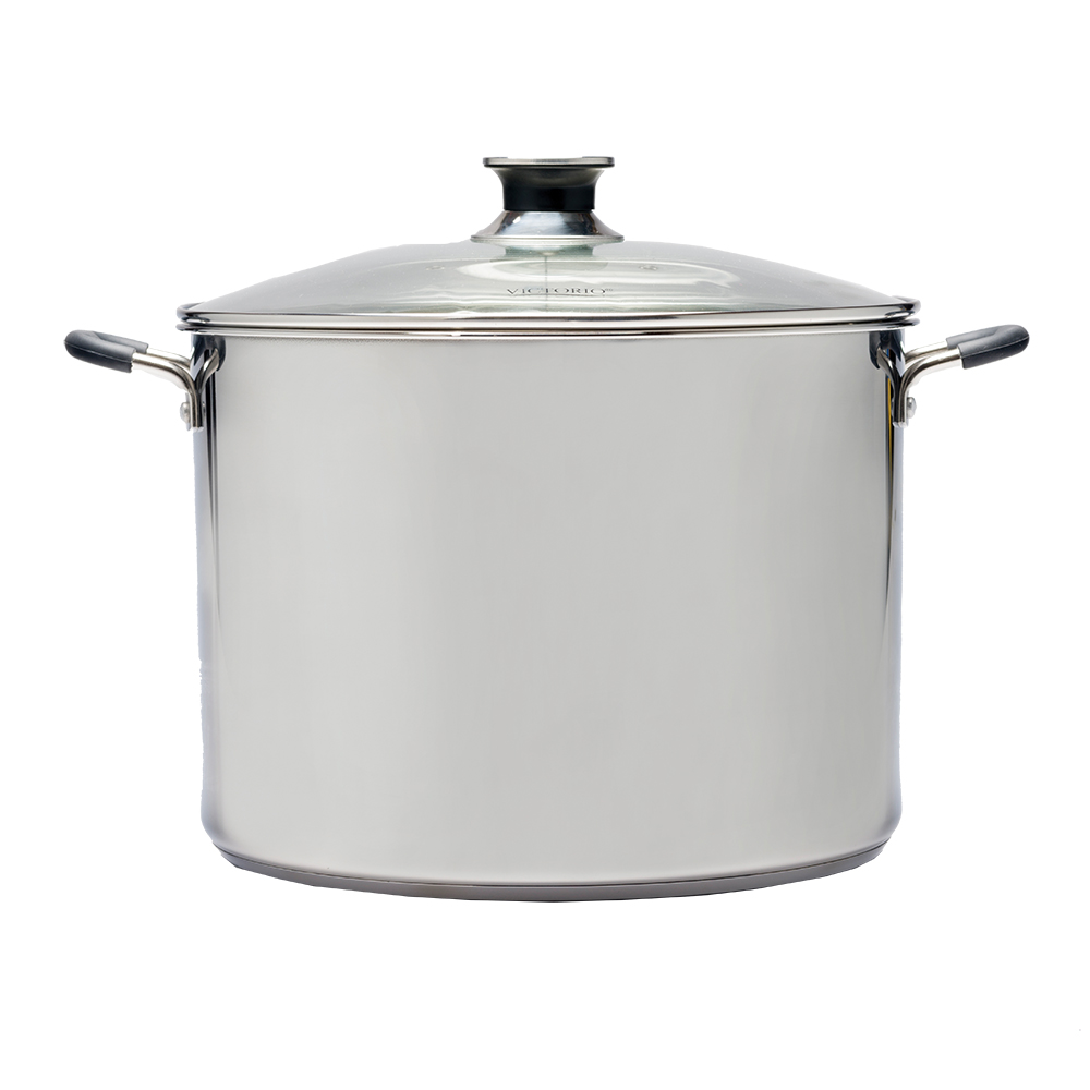Victorio® Stainless Steel Multi-Use Canner - 20 Qt