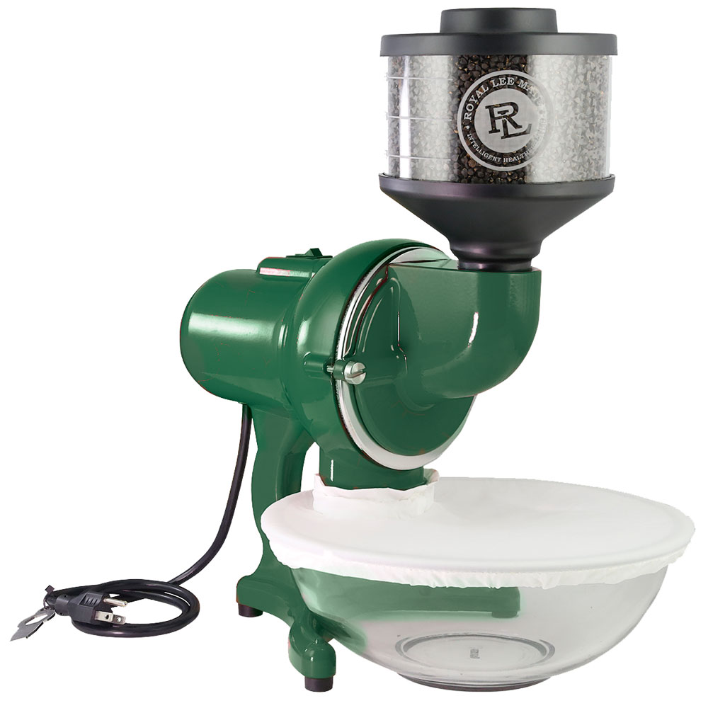 Royal-Lee-Electric-Grain-Mill-Green