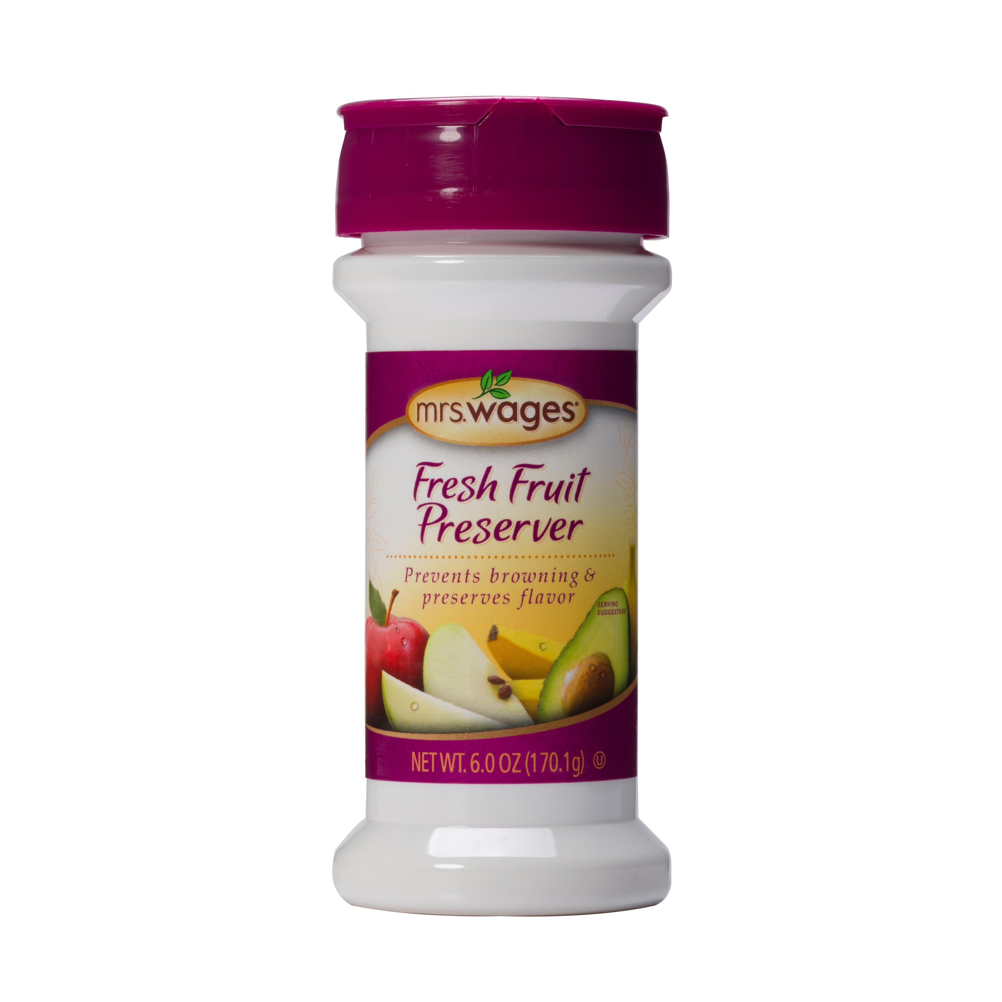 Mrs. Wages Fresh Fruit Preserver