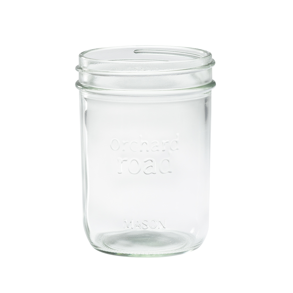 Orchard Road Wide Mouth Pint Jar - Set of Six