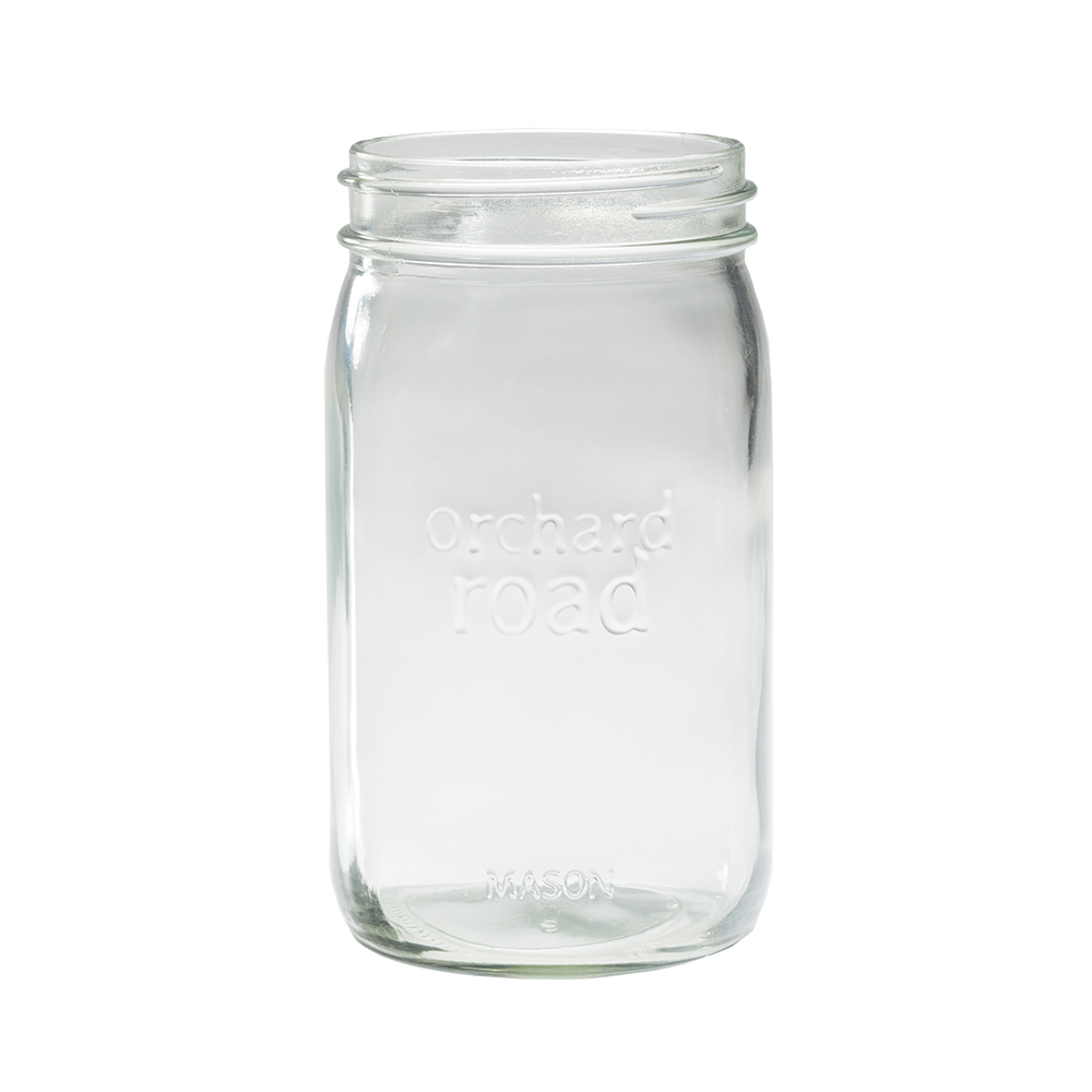 Orchard Road Wide Mouth Quart Jar - Set of Six