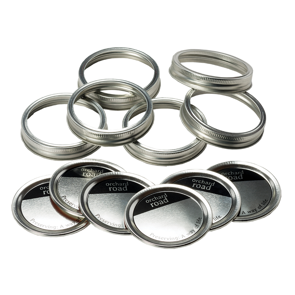 Wide Mouth Canning Bands and Lids