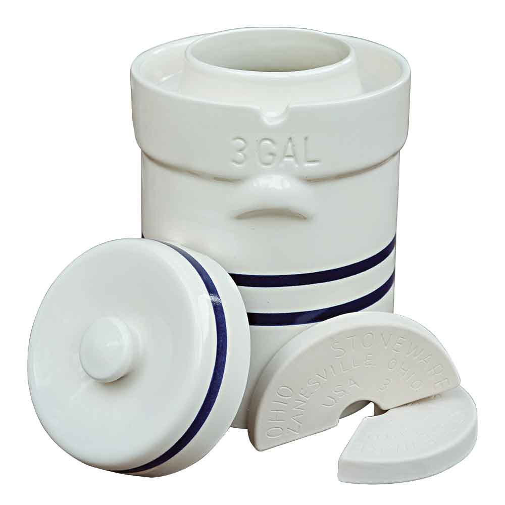 3 Gallon Water Seal Crock Set