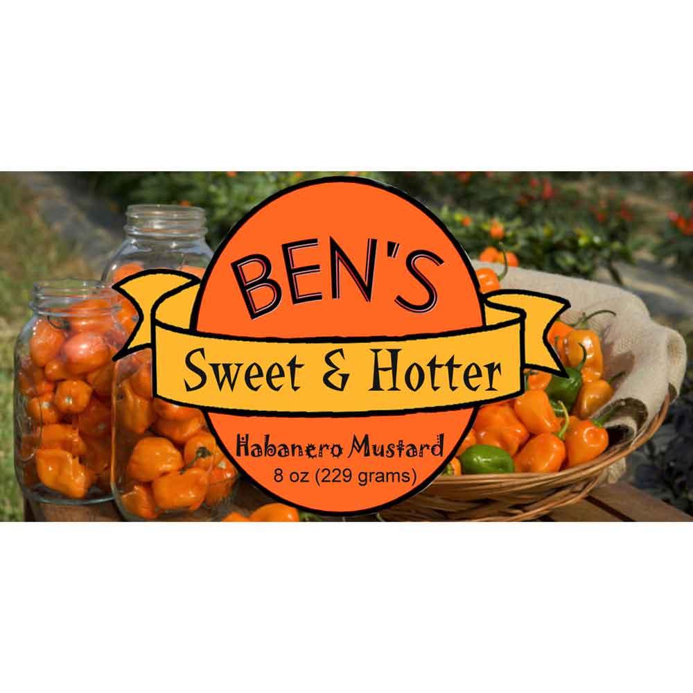 Ben's Sweet & Hotter Habanero Mustard