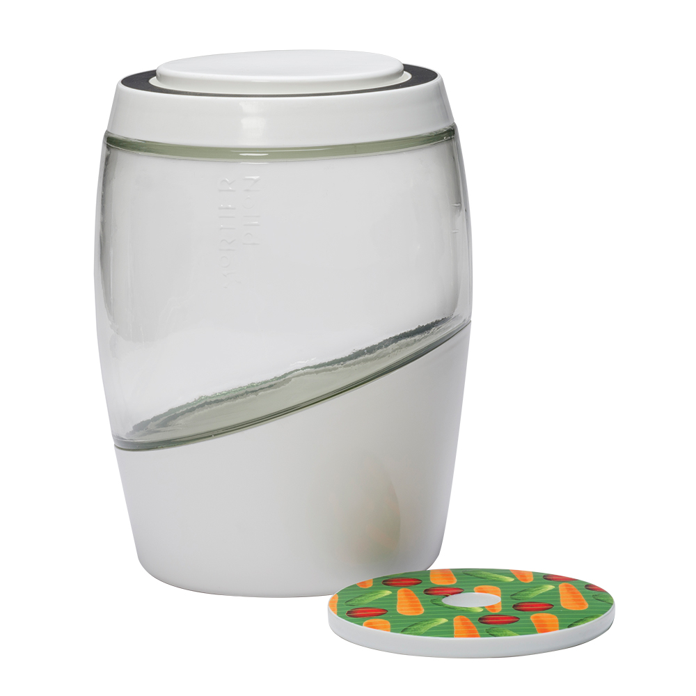 Mortier Pilon Glass Crock Sets - 5L Mortier Pilon Glass Crock Set