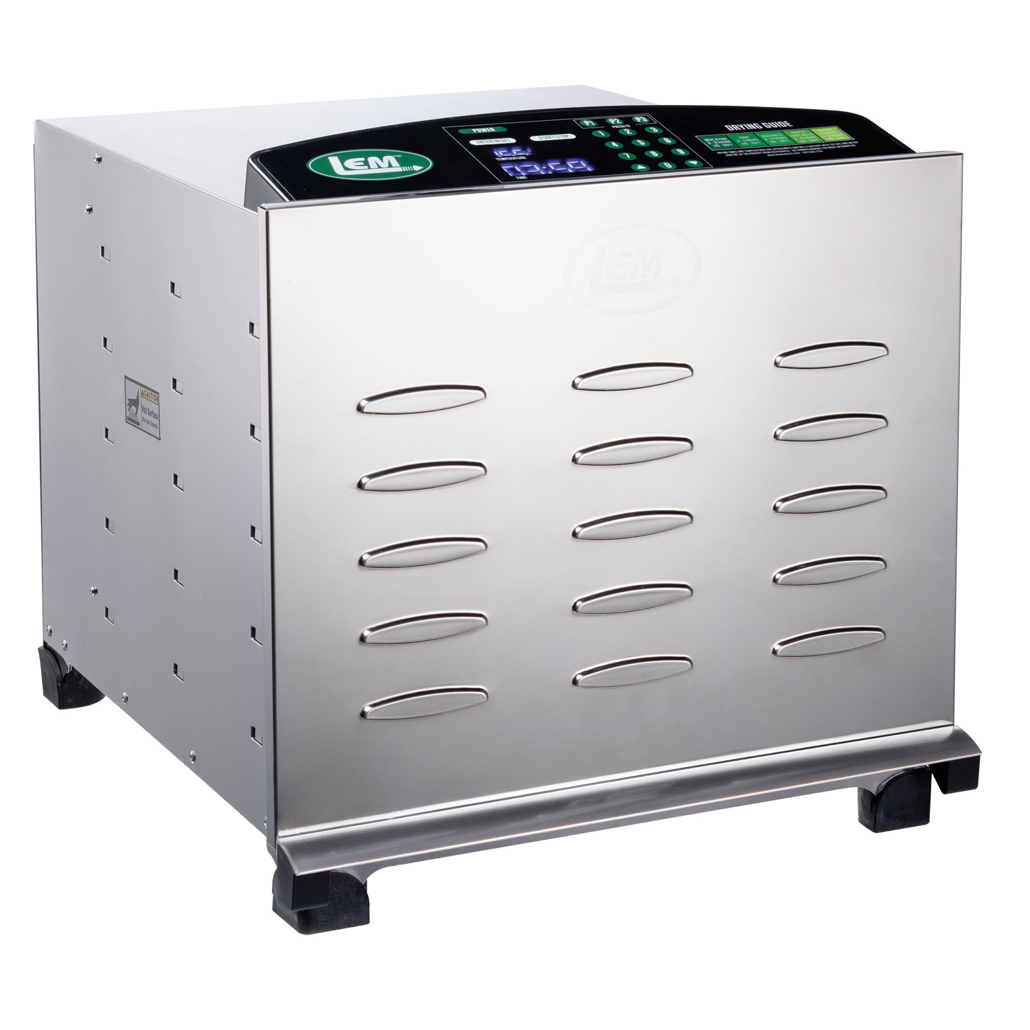 Big Bite® Digital Stainless Steel Dehydrator - Big Bite Digital Dehydrator
