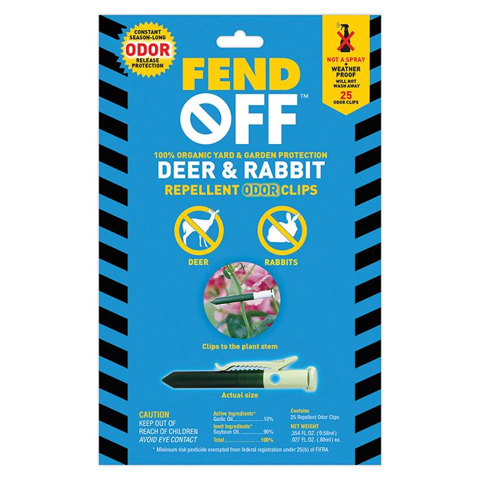 Deer And Rabbit Repellent Odor Tubes