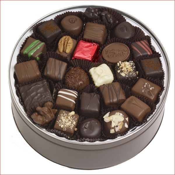 Assorted Chocolates, 44 oz. Tin
