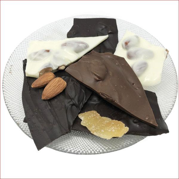 Chocolate Almond Bark, 10 oz. 100 Anniversary Tin