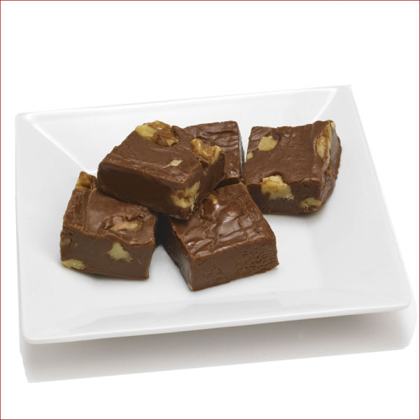 Bourbon Chocolate Walnut Fudge 7 oz. Hunt Box