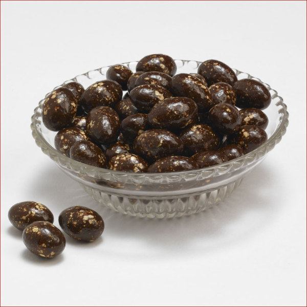 Dark Chocolate Almonds with Organic Hemp Seed 6 oz. Bag