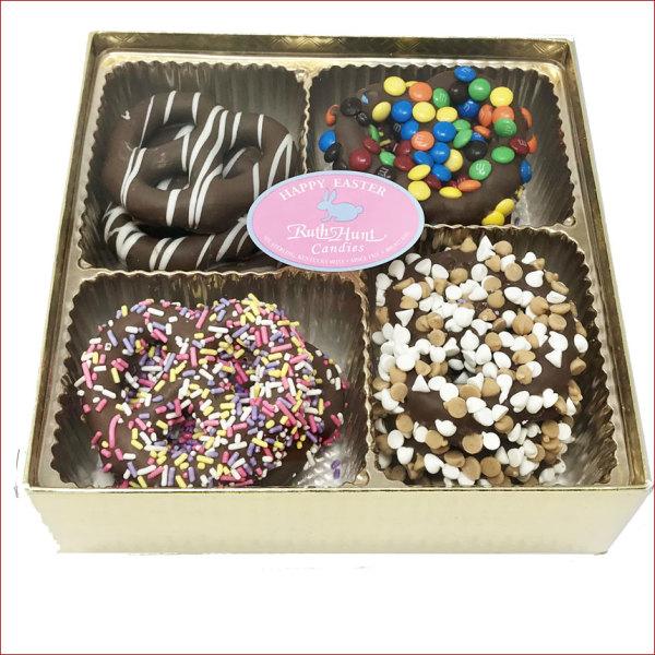 Gourmet Chocolate Pretzels, 15 oz. Box