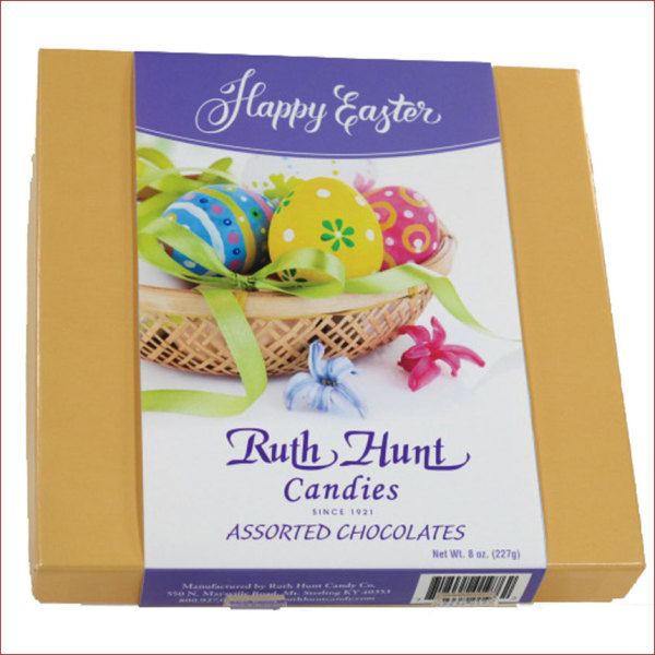 Assorted Chocolates Box with Easter Slide