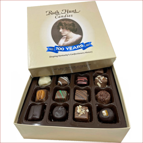 Assorted Chocolates in a Hunt Box