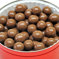 Malted Milk Balls TRIPLE Dipped - 2.5 lb. Tin