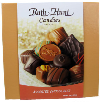 Assorted Chocolates in a Hunt Box - 8 oz. Box