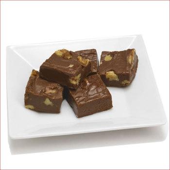Bourbon Chocolate Walnut Fudge 7 oz. Box