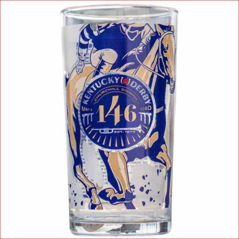 Kentucky Derby 146 Official Glass