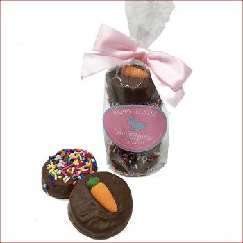 Chocolate Covered Oreo Stack