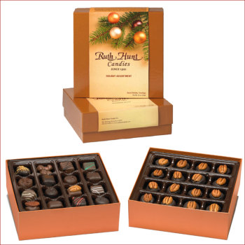 Holiday Hunt Box Collection - 1 lb. Bourbon Balls