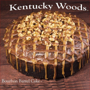Kentucky Woods Bourbon Barrel Cakes - 50 oz. Cake