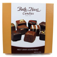 Melt-Aways & Ruth Hunt Truffles - Assorted Melt-Aways, 8 oz. Box