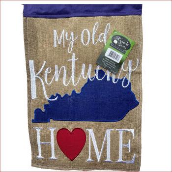 My Old Kentucky Home Garden Flag