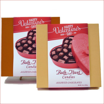 Assorted Chocolates with Valentine Slide