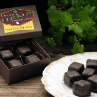 Laura's Hemp Truffles, Raspberry, 2 oz. Box