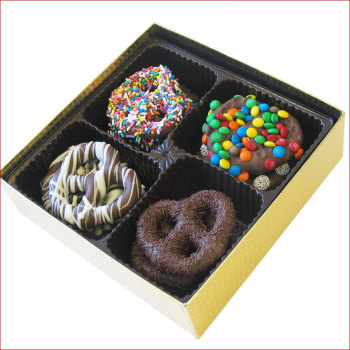 Gourmet Chocolate Pretzels, 15 oz. Box