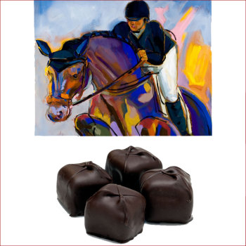 French Paste Truffles in 4.5 oz. Equine Box