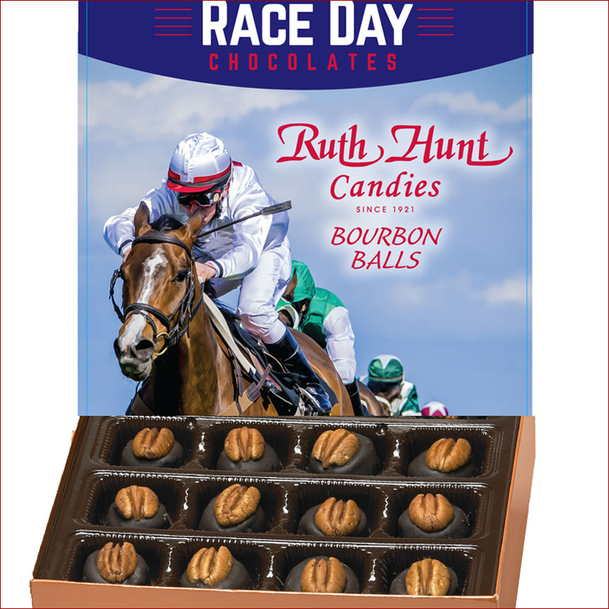 Bourbon Balls, Race Day Collection -  16 oz. Box