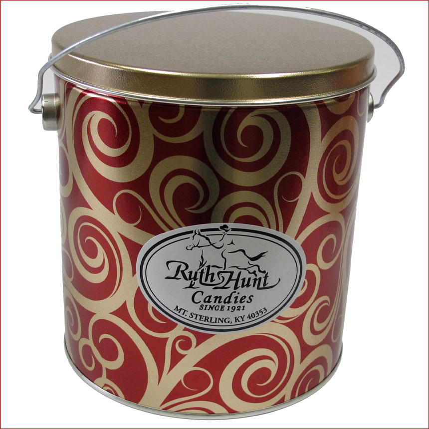 Original & Chocolate Covered, Mixed Cream Candy - 3 lb. Tin